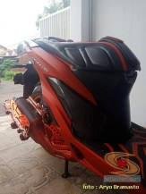 Modifikasi All New Honda Vario 150 merah merona ala sultan brosis (15)