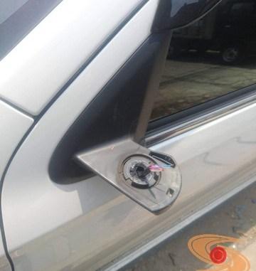 Sadis...Spion Mitsubishi Pajero ini dipetik alias disikat maling berulang kali (3)