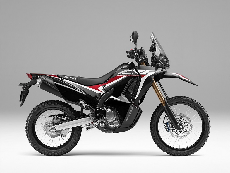Warna dan stripping baru motor turing Honda CRF250Rally tahun 2019