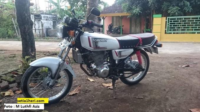 honda gl 100 pakai emblem xenia swap engine cbr250