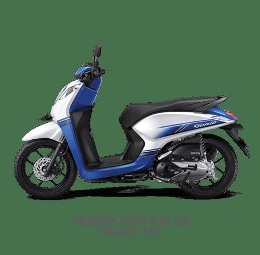 11 warna Honda Genio tahun 2019
