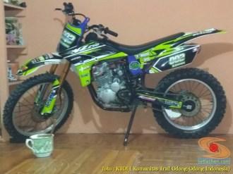Kumpulan foto motor trail odong-odong basic Yamaha Scorpio (15)