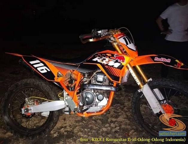 Kumpulan foto motor trail odong-odong basic Yamaha Scorpio