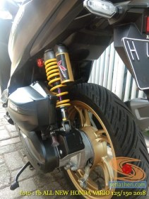 Kumpulan modifikasi shock belakang Honda Vario 125 dan 150 tahun 2018 (10)
