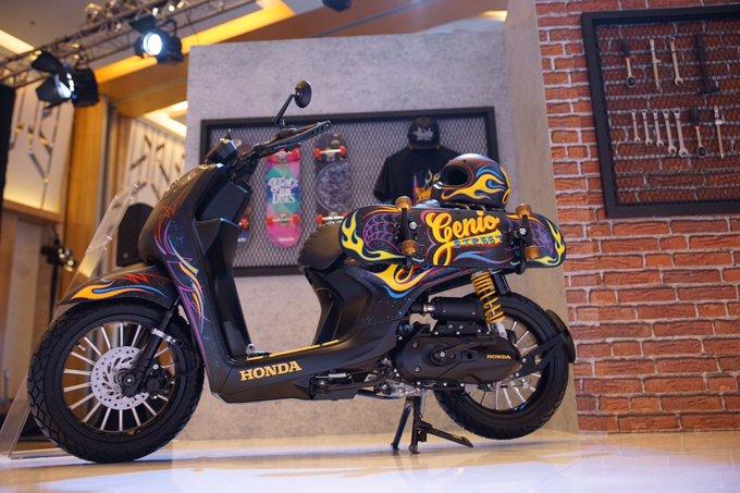 Pilihan Konsep Modifikasi Honda Genio Brosis Setia1heri Com