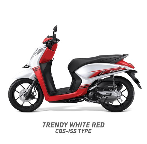 daftar warna Honda Genio tahun 2019