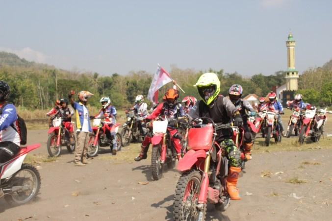 1.000 Bikers Honda semarakkan National Honda Roadventure sambut MXGP di Indonesia