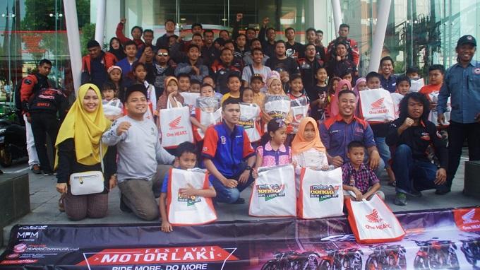 Geber New CB150R Streetfire, Honda Jawa Timur gelar Festival Motor Laki