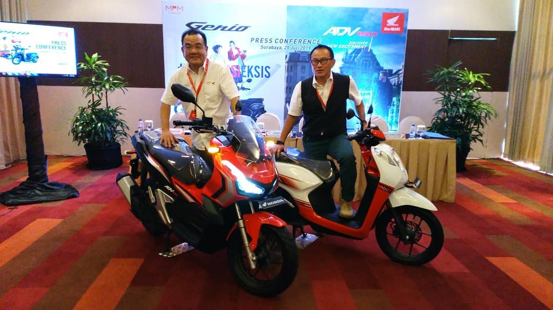 Harga motor Honda Genio di Kota Surabaya tahun 2019
