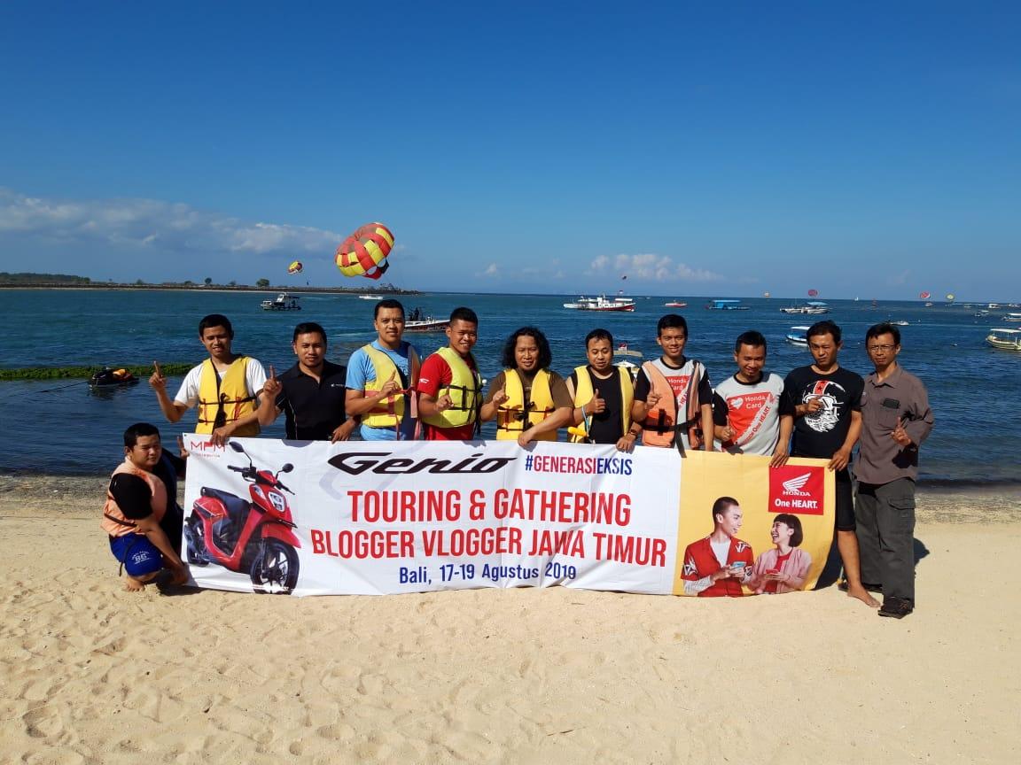 Blogger Vlogger Jawa Timur gathering di Bali bersama MPM Honda Jawa Timur (1)