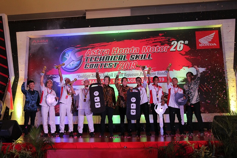 Daftar pemenang Astra Honda Motor Technical Skill Contest (AHM-TSC) tahun 2019