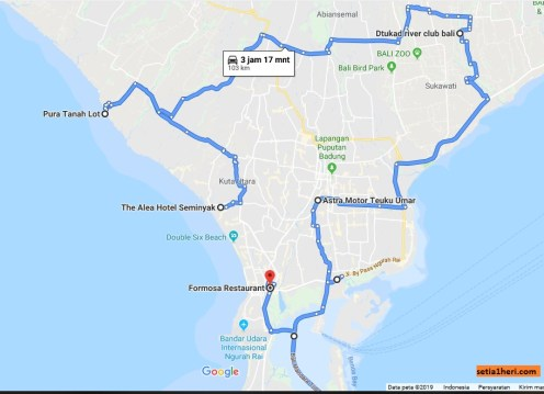 Hari 2 di Bali, memotoran Turing Kemerdekaan 116 km di Pulau Dewata dengan Honda PCX