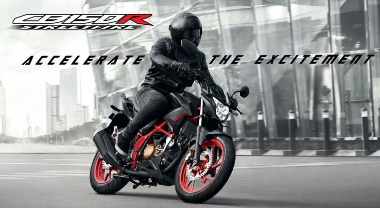 Honda CB150R streetfire tahun 2019