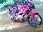 Kumpulan gambar modifikasi Yamaha Vixion warna pink brosis (15)
