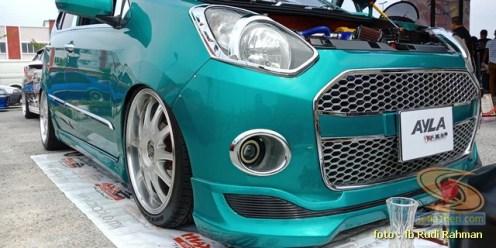 Modifikasi ganteng Daihatsu Ayla asal Malaysia brosis (5)