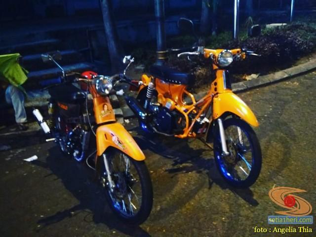 Modifikasi tumpang Honda C70 pakai basic mesin Yamaha Mio