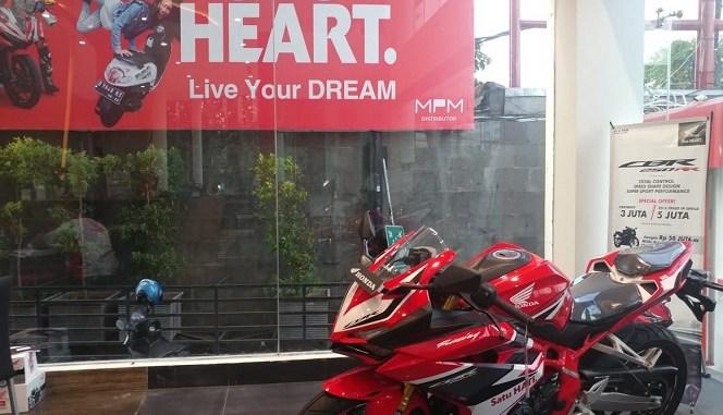 Promo dan potongan harga Honda CBR250RR Di Jawa Timur tahun 2019