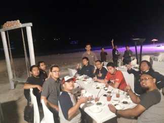 blogger setia1heri makan malam di oceana bali tahun 2019