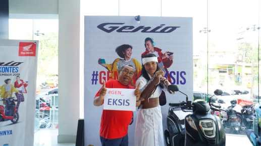 Honda Genio Movie Ride Surabaya 2019, ada Wiro Sableng brosis