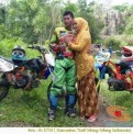 Kumpulan foto romantisme anak motor trail maupun prewedding biker (54)