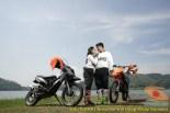 Kumpulan foto romantisme anak motor trail maupun prewedding biker (68)