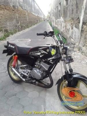 Kumpulan foto Yamaha RX King hitam manis brosis (3)