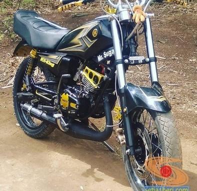 Kumpulan foto Yamaha RX King hitam manis brosis