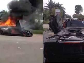 Lamborghini Milik Raffi Ahmad TerbakarLamborghini Milik Raffi Ahmad Terbakar