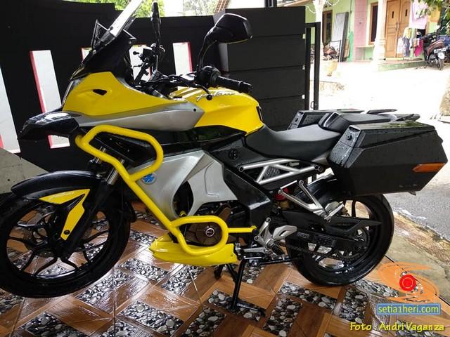 Modifikasi Keren Kawasaki Bajaj Pulsar 200 NS brosis (1)