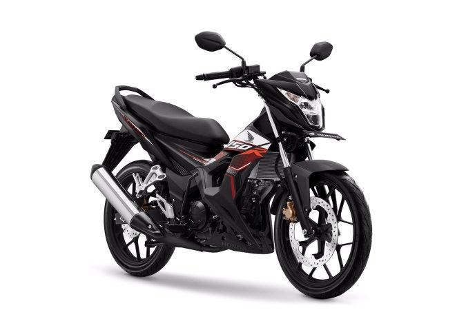 Pilihan Warna dan stripping New Honda Sonic 150R tahun 2019