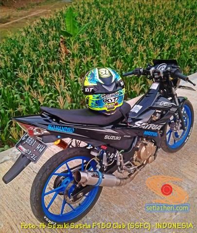 Suzuki Satria Fu ganti stang punya RZR dan punya Yamaha Byson
