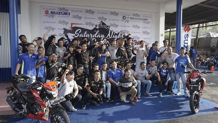 Suzuki Saturday Night Ride Tahun 2019 berakhir di Manado, Sulawesi Utara