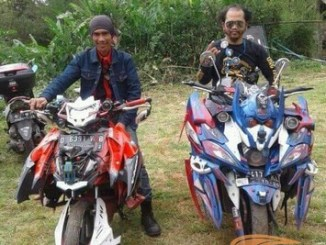 foto- foto modifikasi motor botum alias body tumpuk transformer monster (13)