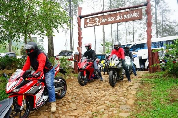 CBR Day 2019 : fun touring gas tipis-tipis ke Pacet, Mojokerto