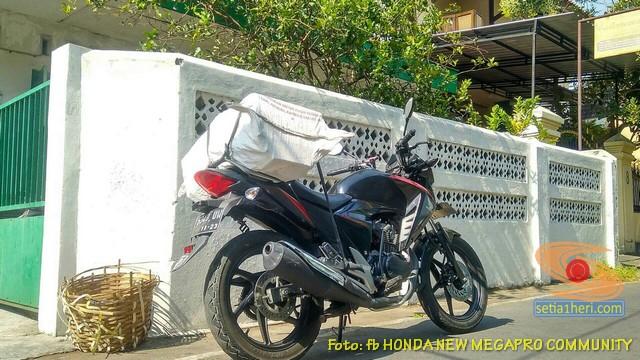 Misteri jok belakang kosong di Honda New Megapro ini akhirnya terjawab.. (4)