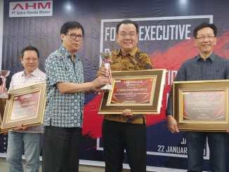 MPM sabet penghargaan Best Of The Best Public Relation Honda Award 2019