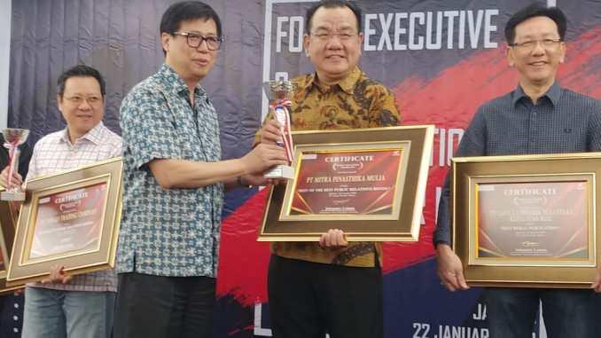 MPM sabet penghargaan Best Of The Best Public Relation Honda Award 2019