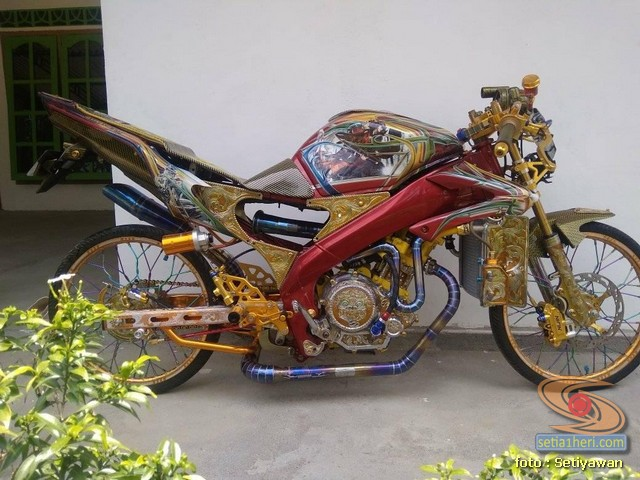 Modifikasi Yamaha Vijar rasa sultan gans...
