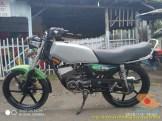 Modifikasi velg palang atau bintang pada Yamaha RX King (2)
