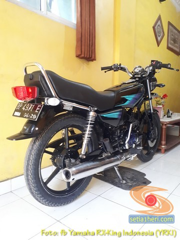 Modifikasi velg palang atau bintang pada Yamaha RX King (33)