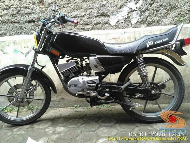 Modifikasi velg palang atau bintang pada Yamaha RX King (34)