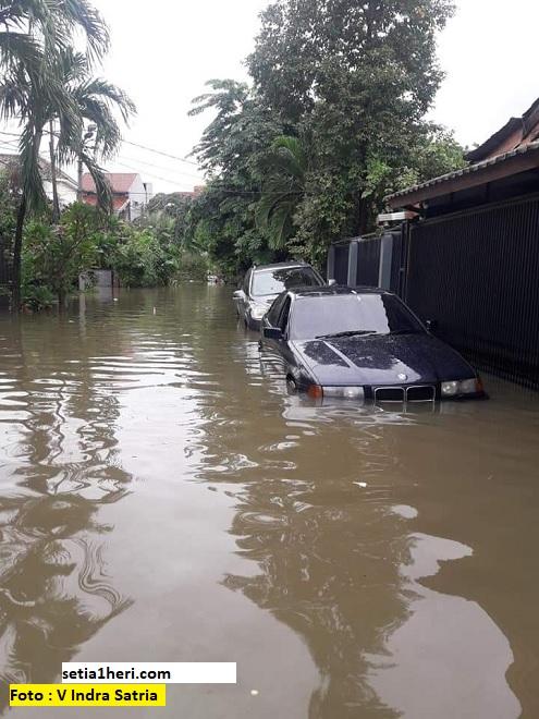 Penanganan mobil pasca terendam air banjir