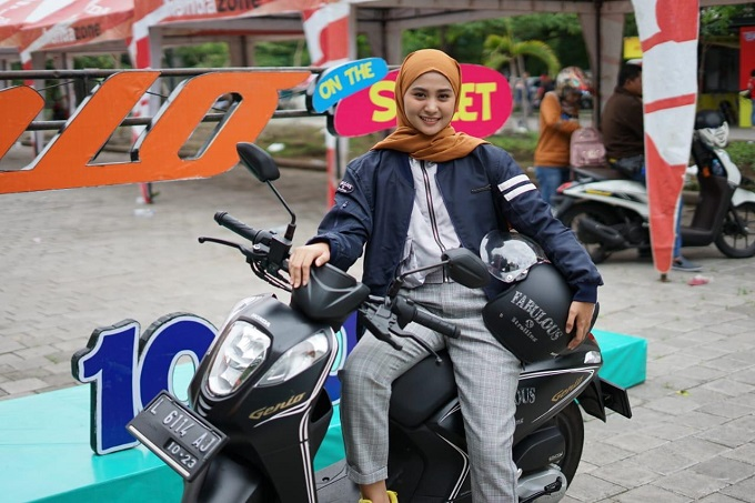 Wow 1000 Millenial join Genio On The Street di Kota Pahlawan tahun 2020 (2)