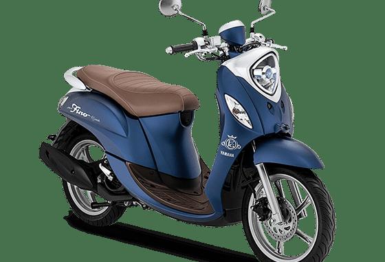Yamaha Fino Grande tahun 2020 warna biru