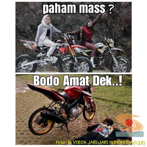 Meme Biker Gambar Paham Mas Motor Trail Idaman Wanita Jaman Now