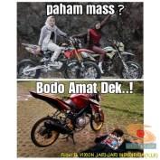 Meme biker gambar paham mas motor trail idaman wanita jaman now (10)