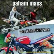 Meme biker gambar paham mas motor trail idaman wanita jaman now (12)