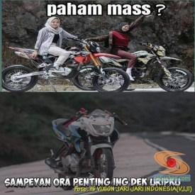 Meme biker gambar paham mas motor trail idaman wanita jaman now (13)