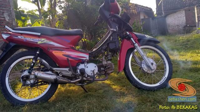 Mengenang motor lawas bebek jadul Honda Supra XX dan Supra V brosis (4)