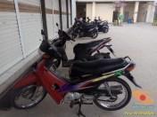 Mengenang motor lawas bebek jadul Honda Supra XX dan Supra V brosis (6)